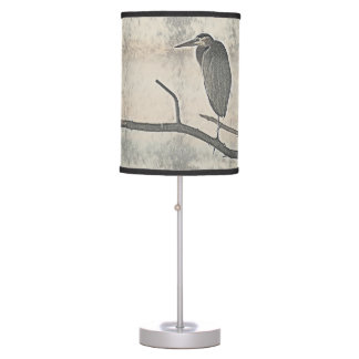 Roosting Heron Table Lamp