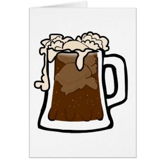 Root Beer Float Card