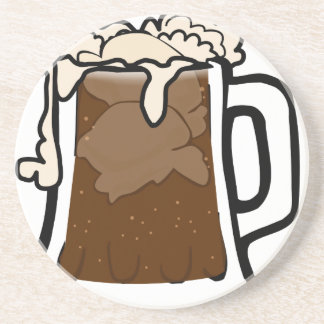 Root Beer Float Coaster
