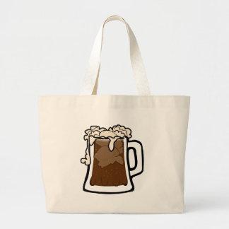 Root Beer Float Large Tote Bag