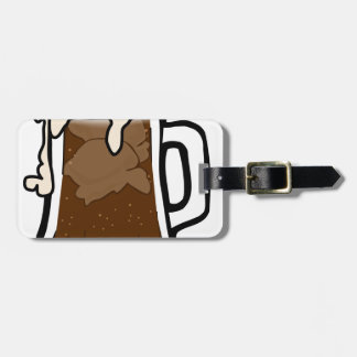 Root Beer Float Luggage Tag
