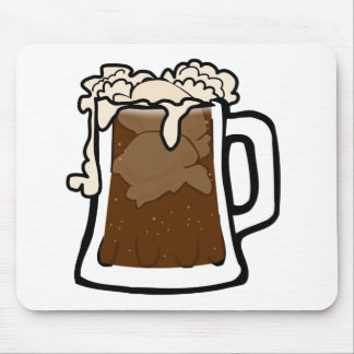 Root Beer Float Mouse Pad