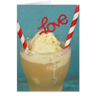 Root Beer Float romance Card