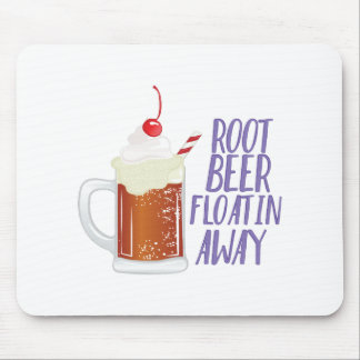 Root Beer Floatin Mouse Pad