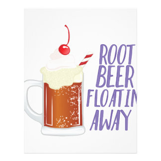 Root Beer Floatin Personalized Letterhead
