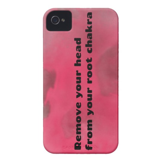 Root Chakra Case-Mate iPhone 4 Case