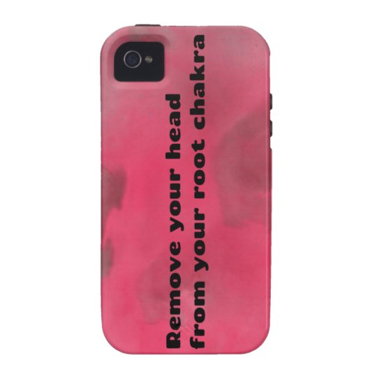 Root Chakra Case-Mate iPhone 4 Cover