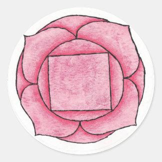 Root Chakra Classic Round Sticker
