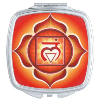 Root Chakra Compact Mirrors