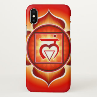 Root Chakra iPhone X Case