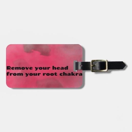 Root Chakra Luggage Tag