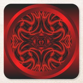 Root Chakra Mandala Coaster