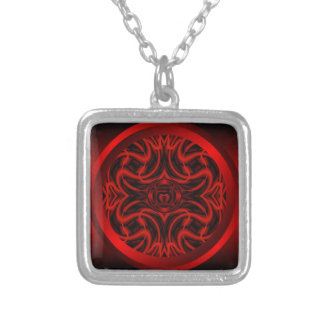 Root Chakra Mandala Necklace