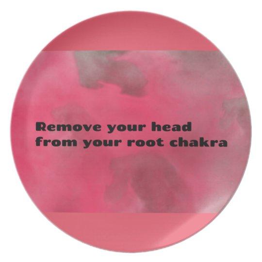 Root Chakra Plate