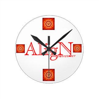 Root Chakra Wall Clock-by AligN Wallclocks