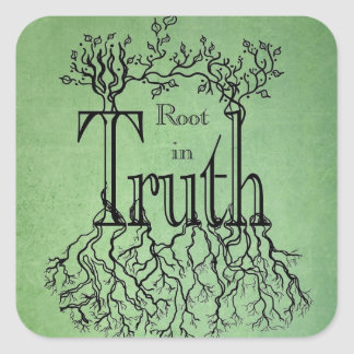 Root in Truth Stickers