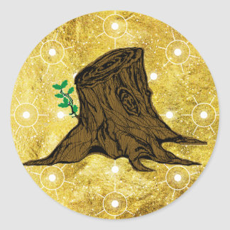 Root of Jesse Tree Sticker