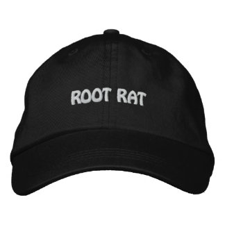 ROOT RAT EMBROIDERED HAT