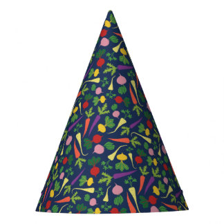 Root Veggie Medley Party Hat