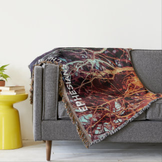 Rooted And Firmly Grounded In Love Throw Blanket