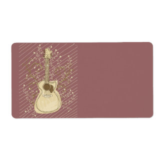 Roots Music Shipping Label