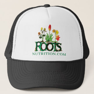 "Roots Nutrition ""Dot Com"" Clothing Trucker Hat"