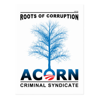 Roots of Corruption Postcard