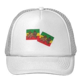 ROOTS RASTA COLLECTION TRUCKER HAT