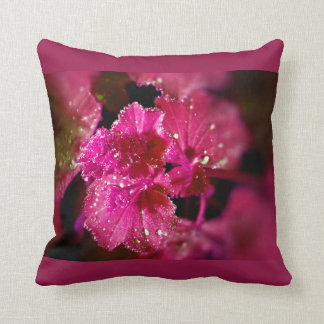 Rope drop on sheets throw pillow