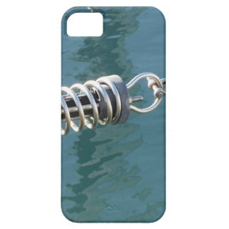Rope sling with safety anchor shackle case for the iPhone 5
