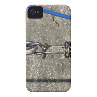 Rope sling with safety anchor shackle Case-Mate iPhone 4 case