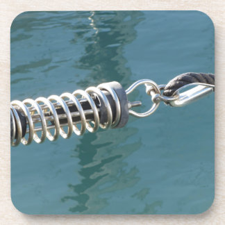 Rope sling with safety anchor shackle coaster