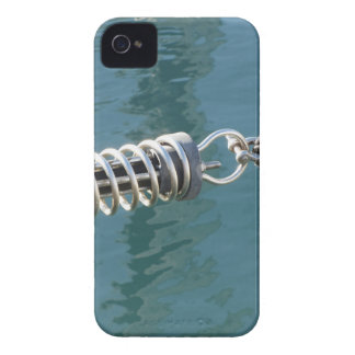 Rope sling with safety anchor shackle iPhone 4 cover