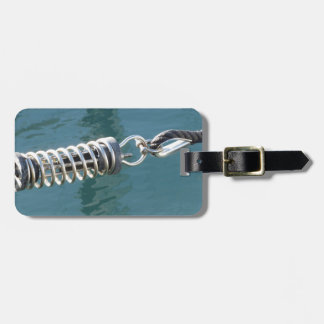 Rope sling with safety anchor shackle luggage tag