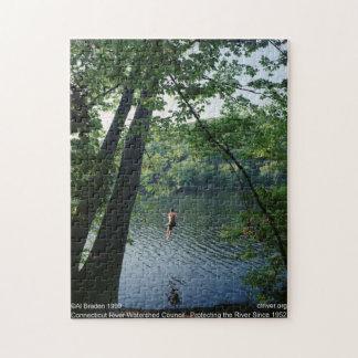 Rope Swing Puzzle, Connecticut River - Al Braden Puzzle