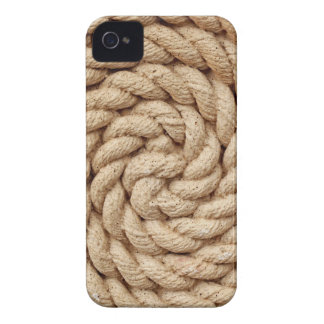 rope, target circle design round mark iPhone 4 Case-Mate cases