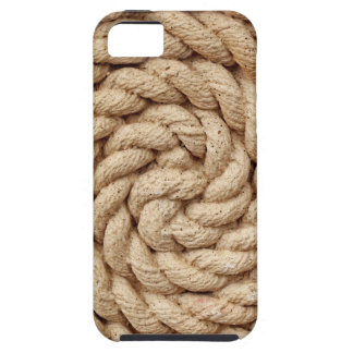 rope, target circle design round mark iPhone 5 case