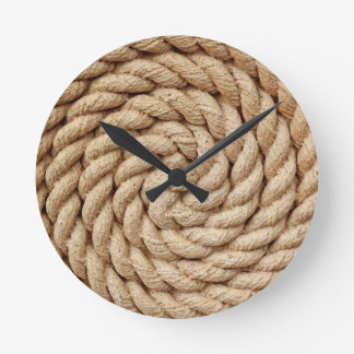 rope, target circle design round mark round clock
