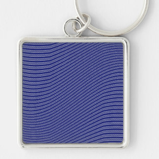 Rope Waves Background Pattern Keychains