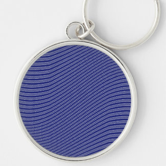 Rope Waves Background Pattern Key Chains
