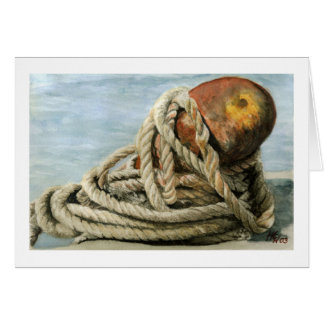 Roped and Rusty Card