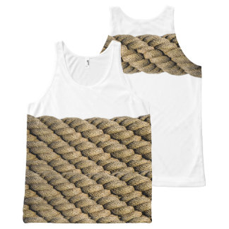 Rope'em All-Over-Print Tank Top