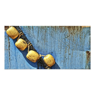 ropes and rust detail photographic print
