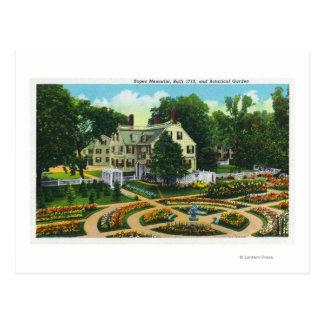 Ropes Memorial and Botanical Gardens View # 1 Postcard