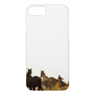 roping cowboy cell phone case