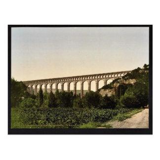 Roquefavour Aqueduct, Marseilles Canal, Orange, Pr Postcard