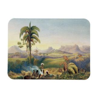 Roraima, a Remarkable Range of Sandstone Mountains Vinyl Magnets