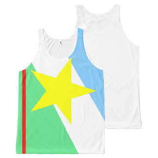 Roraima flag Brazil region province symbol All-Over-Print Tank Top