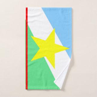 Roraima flag Brazil region province symbol Hand Towel