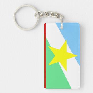Roraima flag Brazil region province symbol Keychain